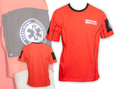 T-SHIRT SOR ORANGE  (1)