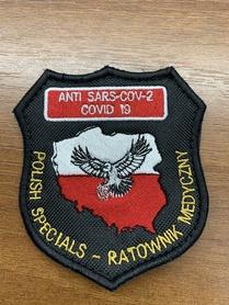 Emblemat Polish Specials COV -19
